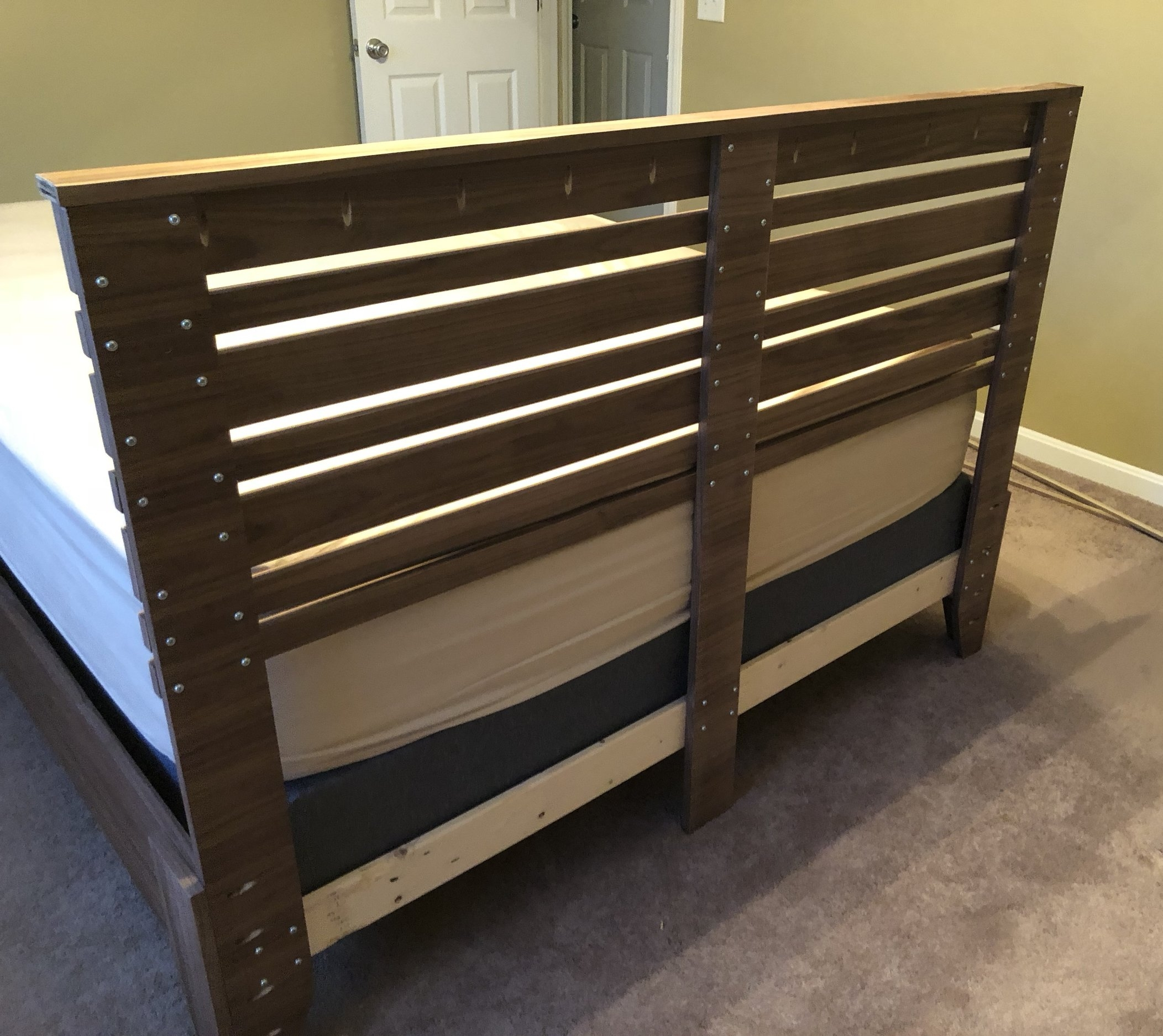Attach the Headboard to the Bed Frame