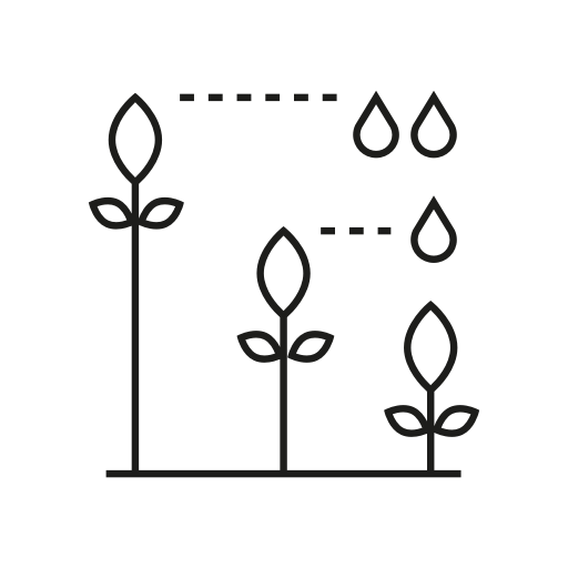 Hydroponic - You will use significantly less water comparatively than what it would ordinarily take to grow the same crops in a soil-based method [approximately 90% less]. By using less water you'll be making a positive step toward reducing your water footprint.