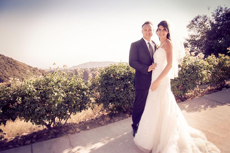 Tawney & Brandon - Serendipity Garden WeddingsOak Glen, California