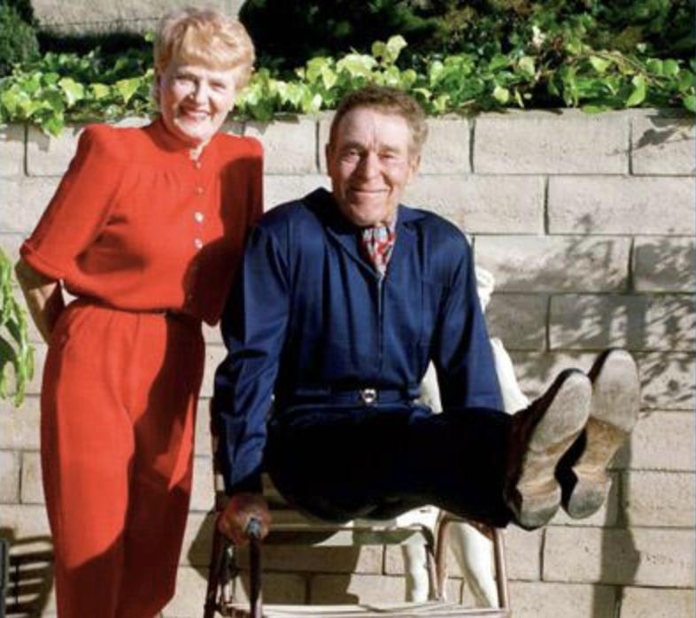 Elaine and Jack LaLanne