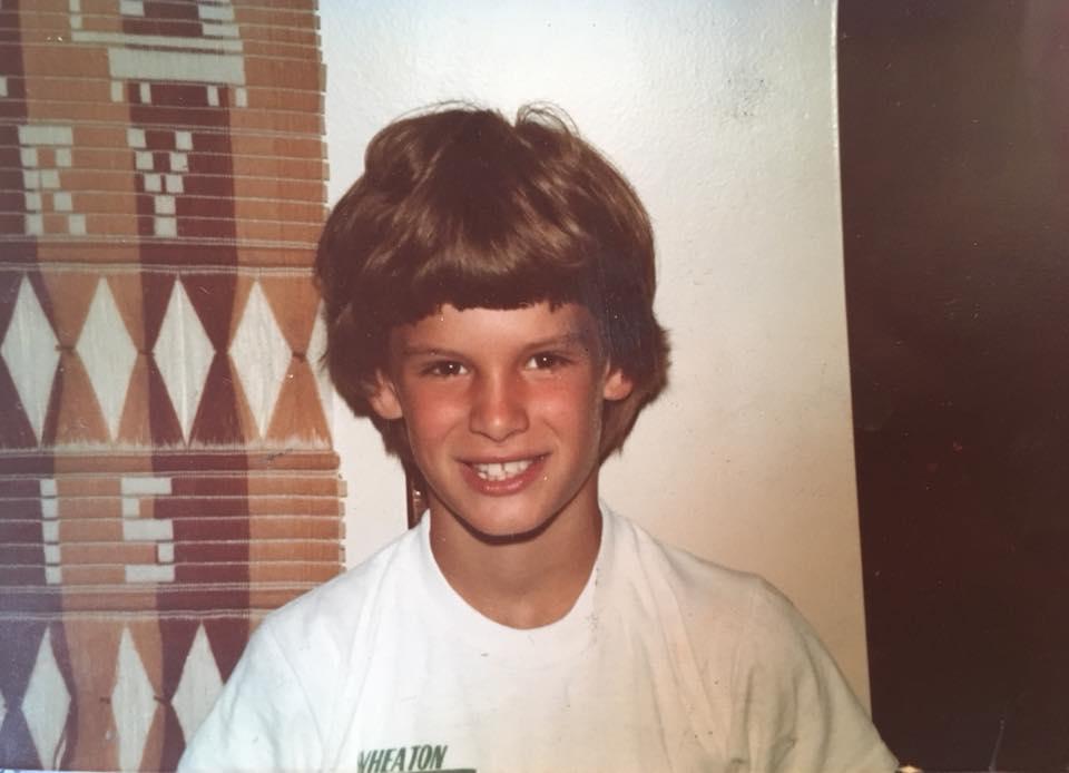 Kurt with wig - 1980