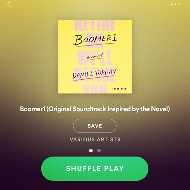 The Color Bars are beyond psyched to be a part of the amazing BOOMER1 soundtrack (Spotify link in bio) featuring @drdogmusic @petermatthewbauer @kateleeoconnor and many more. Thx to author @danieltorday for his uncompromising vision. His poignant novel #boomer1 out now on @macmillanusa is an autumn must-read!!! 📖 #millenials #babyboomers #prettypolly #thecolorbars #indiepop #fallreads