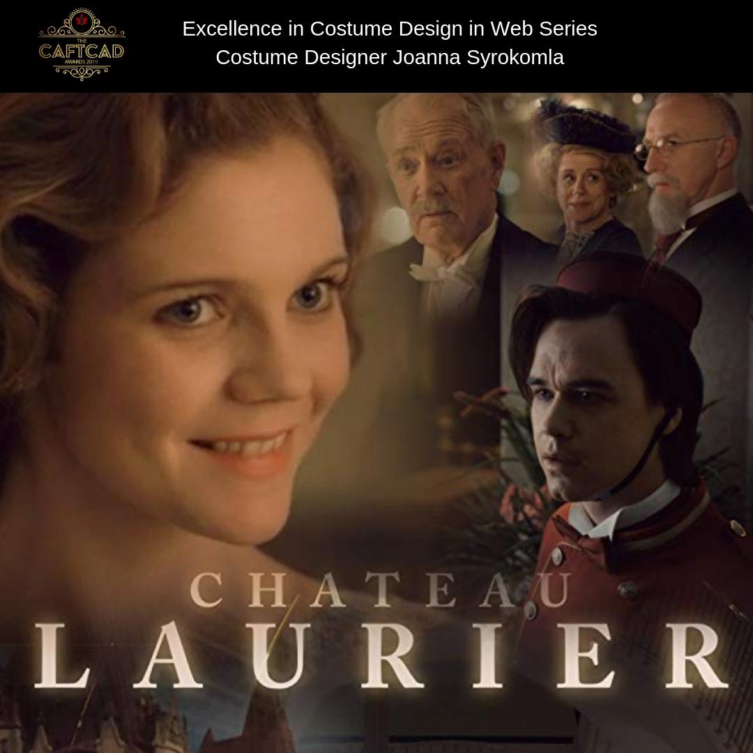 Chateau Laurier - Costume Designer: Joanna SyrokomlaAssistant Designer: Anna-Claude Biron, Wardrobe Assistant: Jennifer Jakob