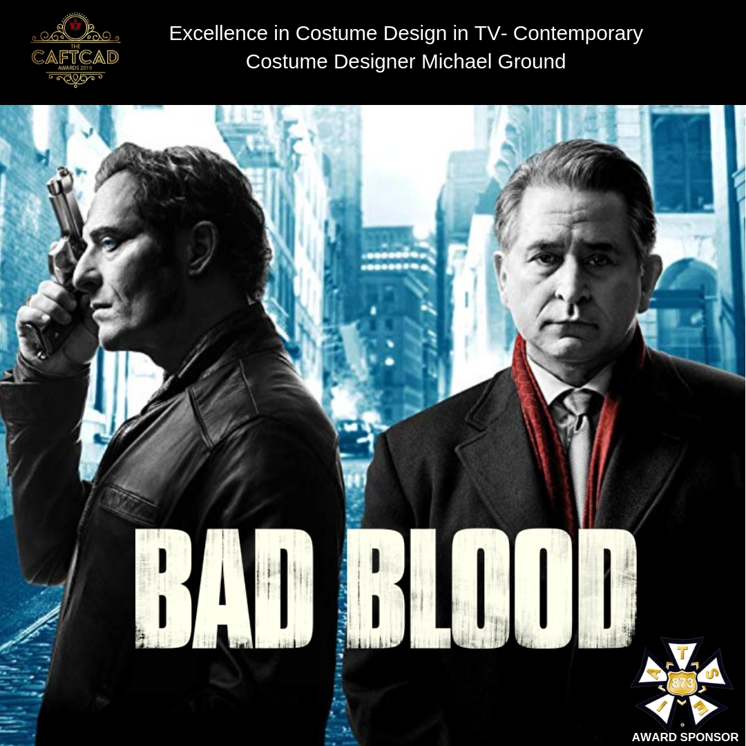 Bad Blood: 201 Who Are You? - Costume Designer: Michael GroundAssistant Designers: Amanda Lee Street & Kimberly Harkness, Key Set: Keith Bowser, Key Truck: Kaitlyn King