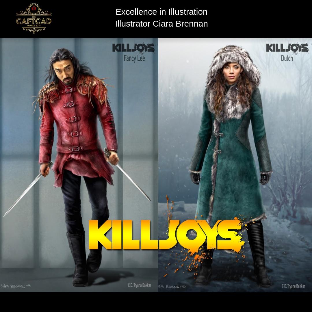 Killjoys – Season 4 - Illustrator Ciara Brennan