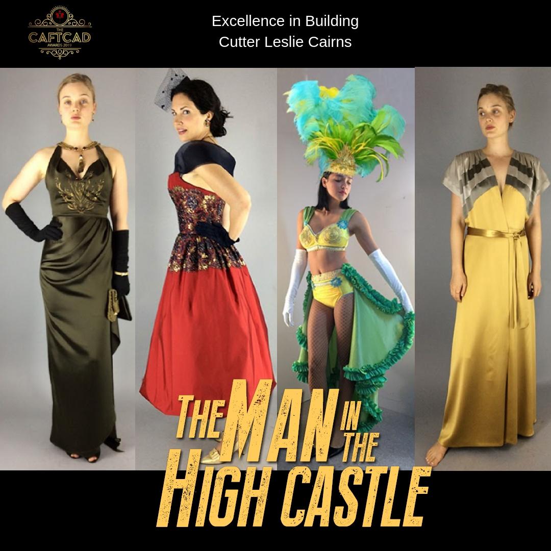 Man in High Castle- Season 3 - Cutter: Leslie CairnsStitcher- Ep 301-306: Alina Babbi, Stitchers: Sandy Dunn, Alice Devonshire, Tracey Gauvin