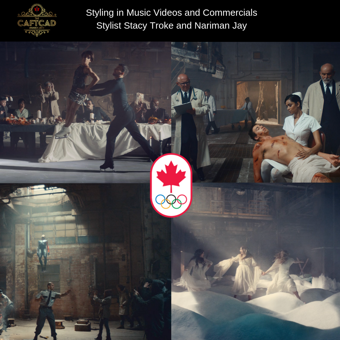 "Canadian Olympic Committee ""Be Olympic"" - Stylist: Stacy TrokeCo-Stylist: Nariman Jay, Assistant: Mona Koocheck"
