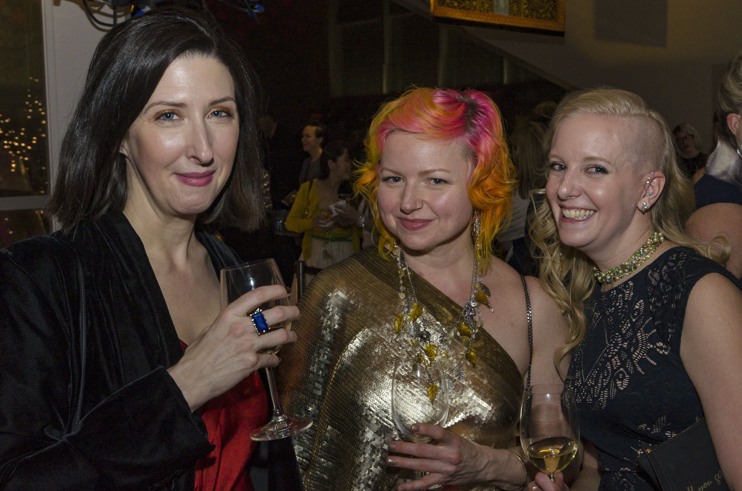Shannon Pomakov, Darci Cheyne and Amanda Wood