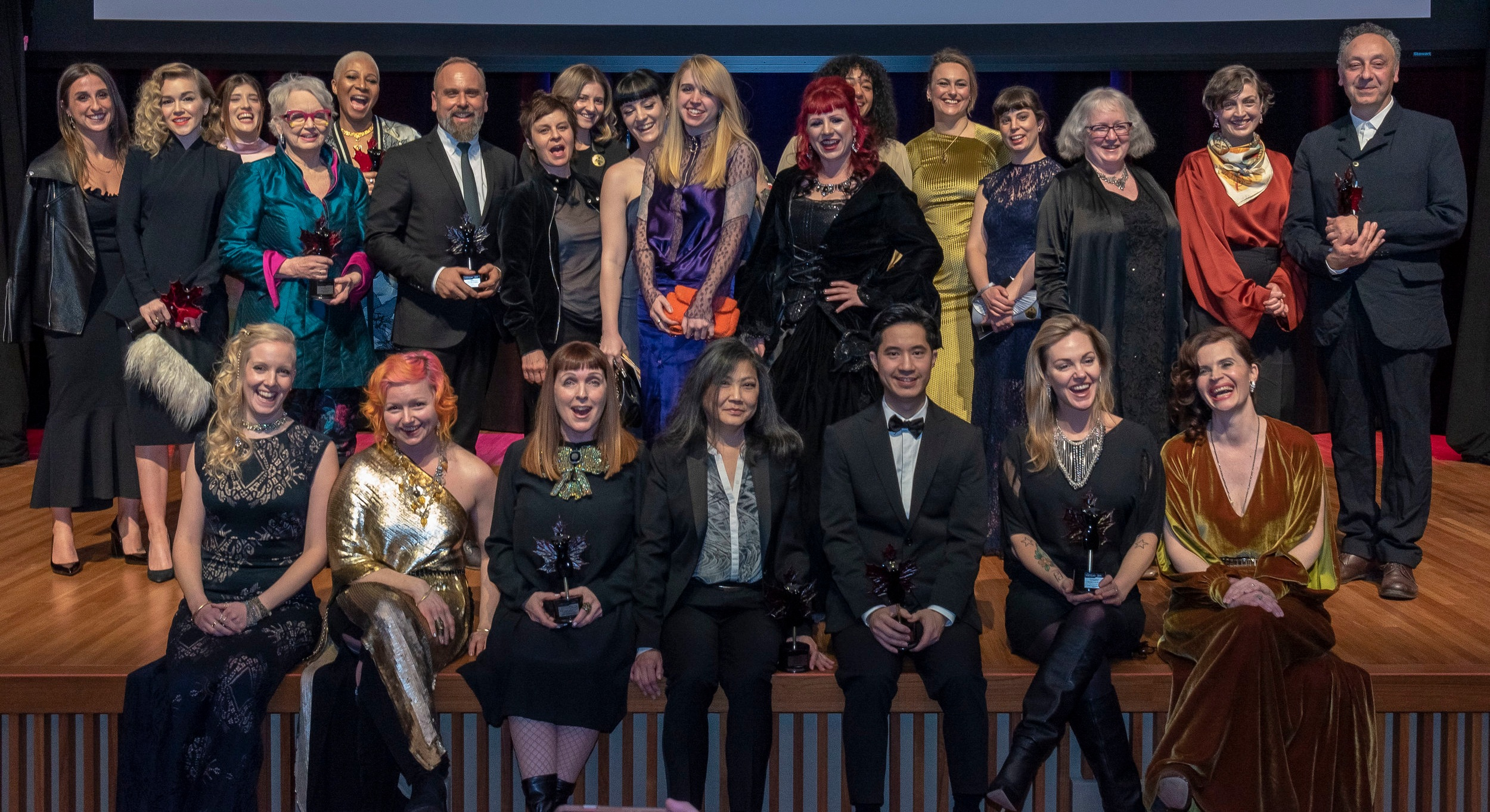 The 2019 Award Winners and their teams