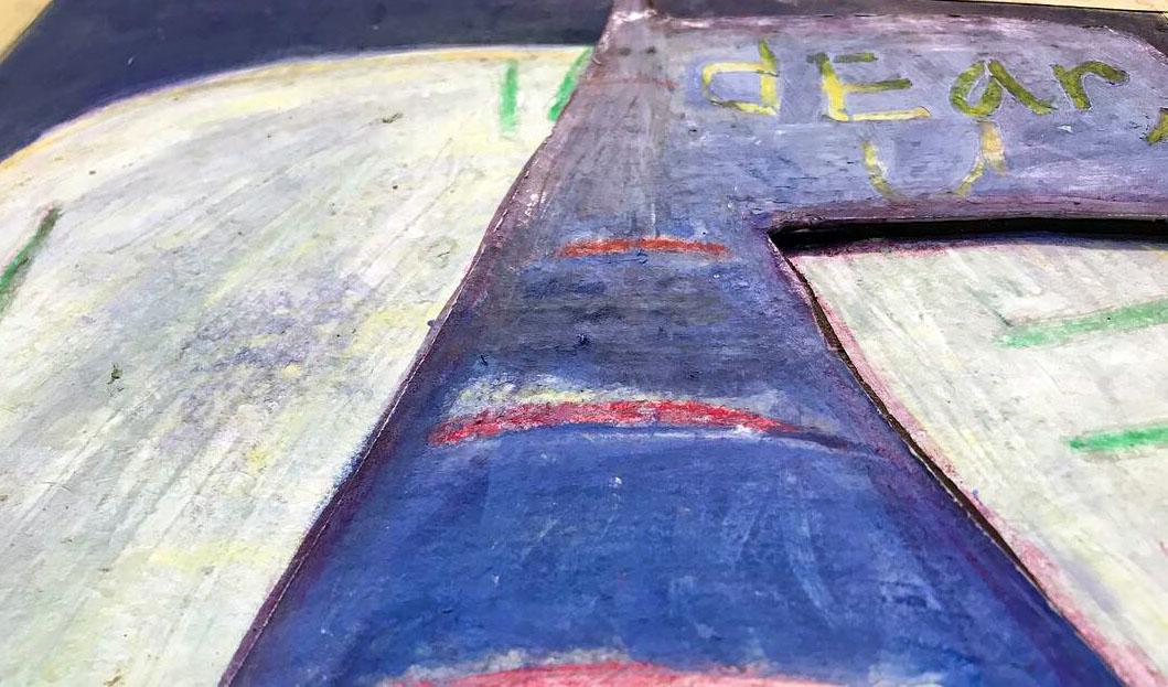train of DEATH detail shot