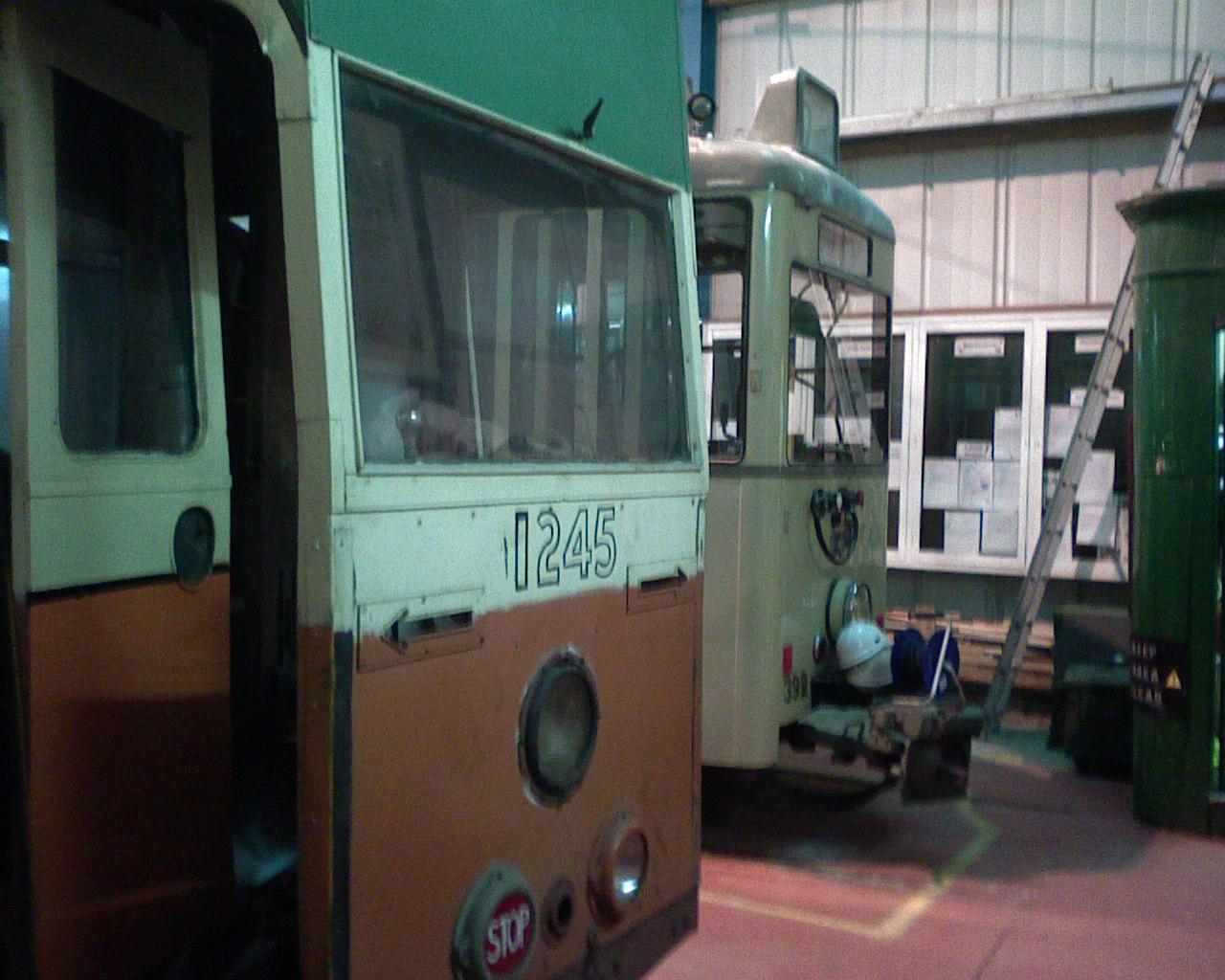 1245 awaits restoration at Summerlee