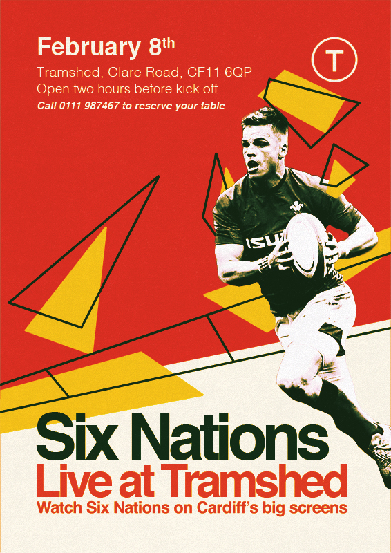 Six nations poster concept (2019)