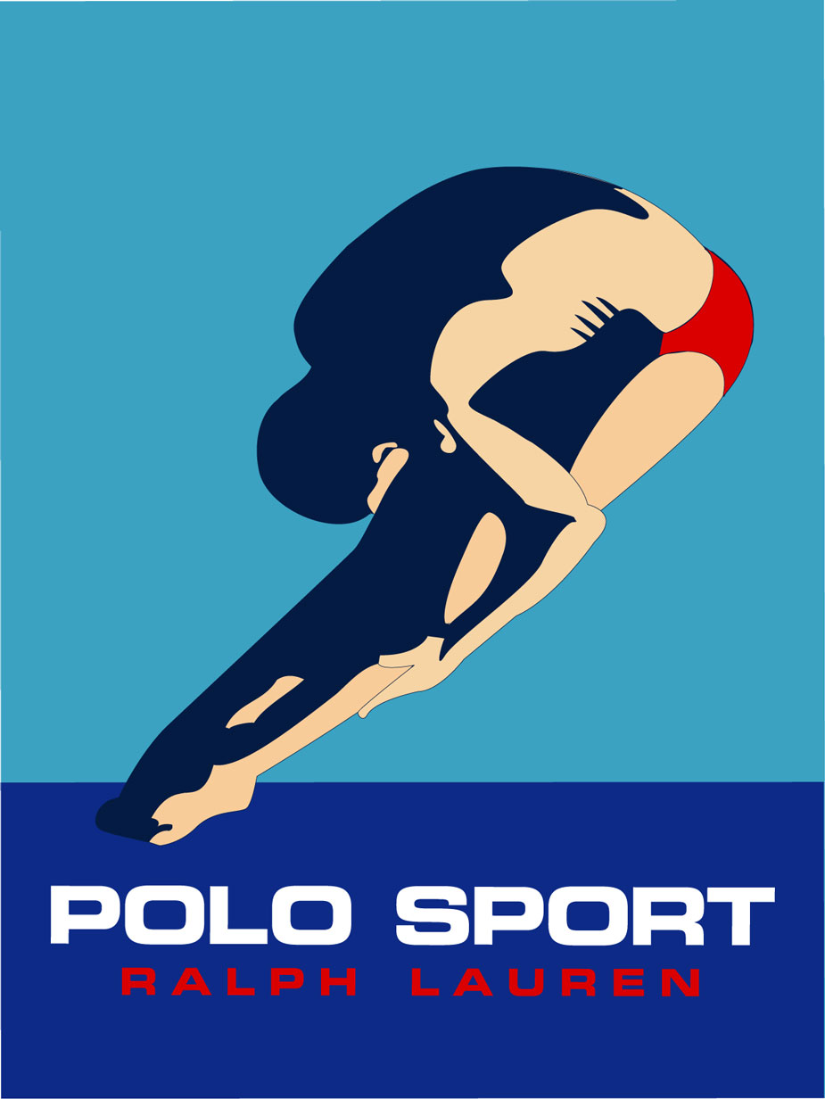 Ralph Lauren Polo Sport Poster