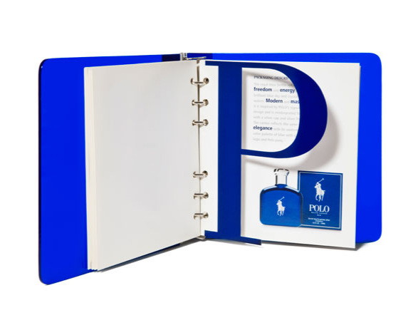 Ralph Lauren Polo Blue Marketing Book