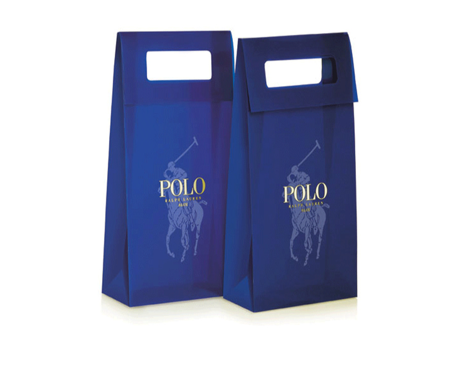 Ralph Lauren Polo Blue Shopping Bag
