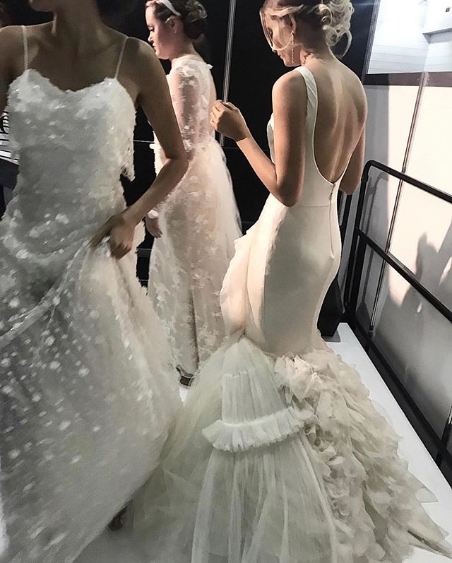 Side stage at @qb_weddingexpo in @verawanggang