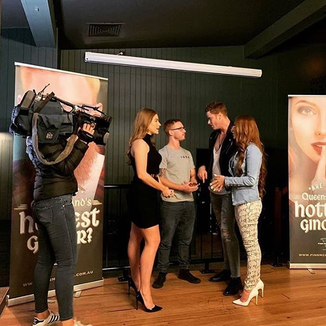 Had lots of fun with Channel 7 and the winners of last years QLD's hottest ginger competition, thank you for the advice and words of encouragement for the upcoming finale. 🔥 . . . . . . . #brisbaneshottestginger #brisbane #surfersparadise #goldcoast #finnmccools #channel7news #channel7 #channel7queensland  #promo