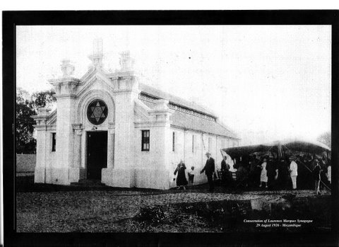 A Sinagoga en 1926