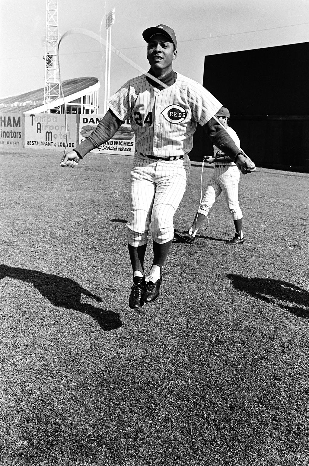 Tony Perez, spring training, 1968.