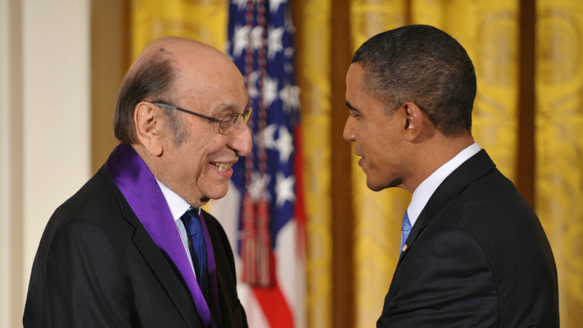 Milton Glaser was the first graphic designer to receive  the National Medal of the Arts award.