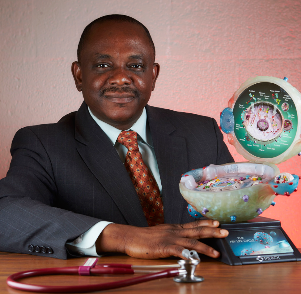 Echezona Ezeanolue, MD, MPH   Is the Vice-President for Innovation, HealthySunrise Foundation and Professor of Pediatrics and Public Health at the University of Nigeria. A clinician-epidemiologist, his research focuses on the use of implementation science to enhance the effectiveness and quality of health services. He served as the Director of the HRSA-funded comprehensive maternal-child HIV program in Nevada (H12HA24832) and has been PI on multiple NIH-funded grants (R01HD075050; R21TW010252; R01HD087994; R01HD089871), including the community-based Baby Shower Trials that seek to identify feasible, acceptable, and sustainable approaches to test, engage and retain individuals with HIV infection to achieve viral suppression and improve health outcomes. Dr. Ezeanolue has been recognized as Nevada Public Health Leader of the Year (2007), Nevada Health Care Hero (2008), and AAP Local Hero (2010) for his contributions to public health.