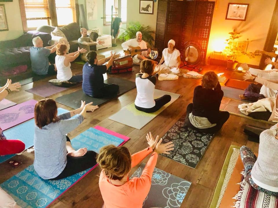 Fall Into Love Retreat with Light of the World Yoga October 4-6th 2019 at Lincoln Way Inn Franklin Grove, IL