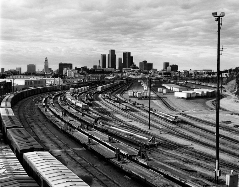 35. View of River Station from the North Broadway Bridge, 1987
