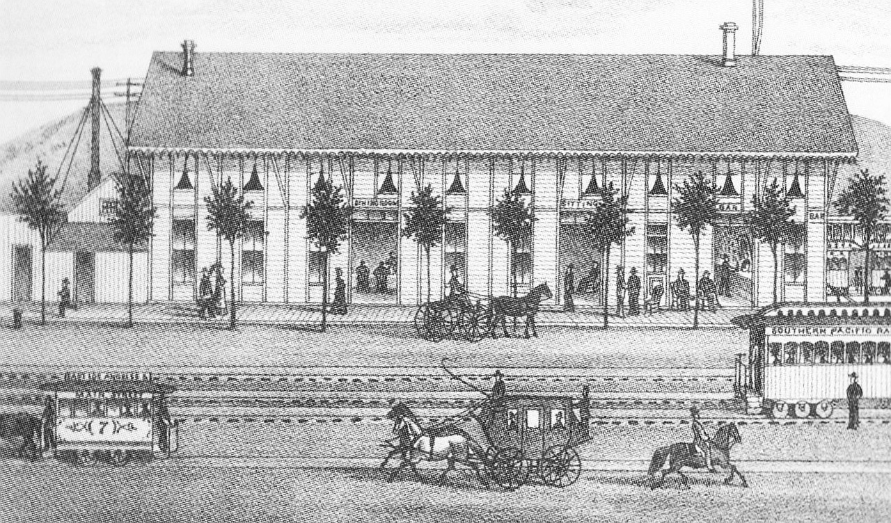 41. Hotel at River Station, 1876