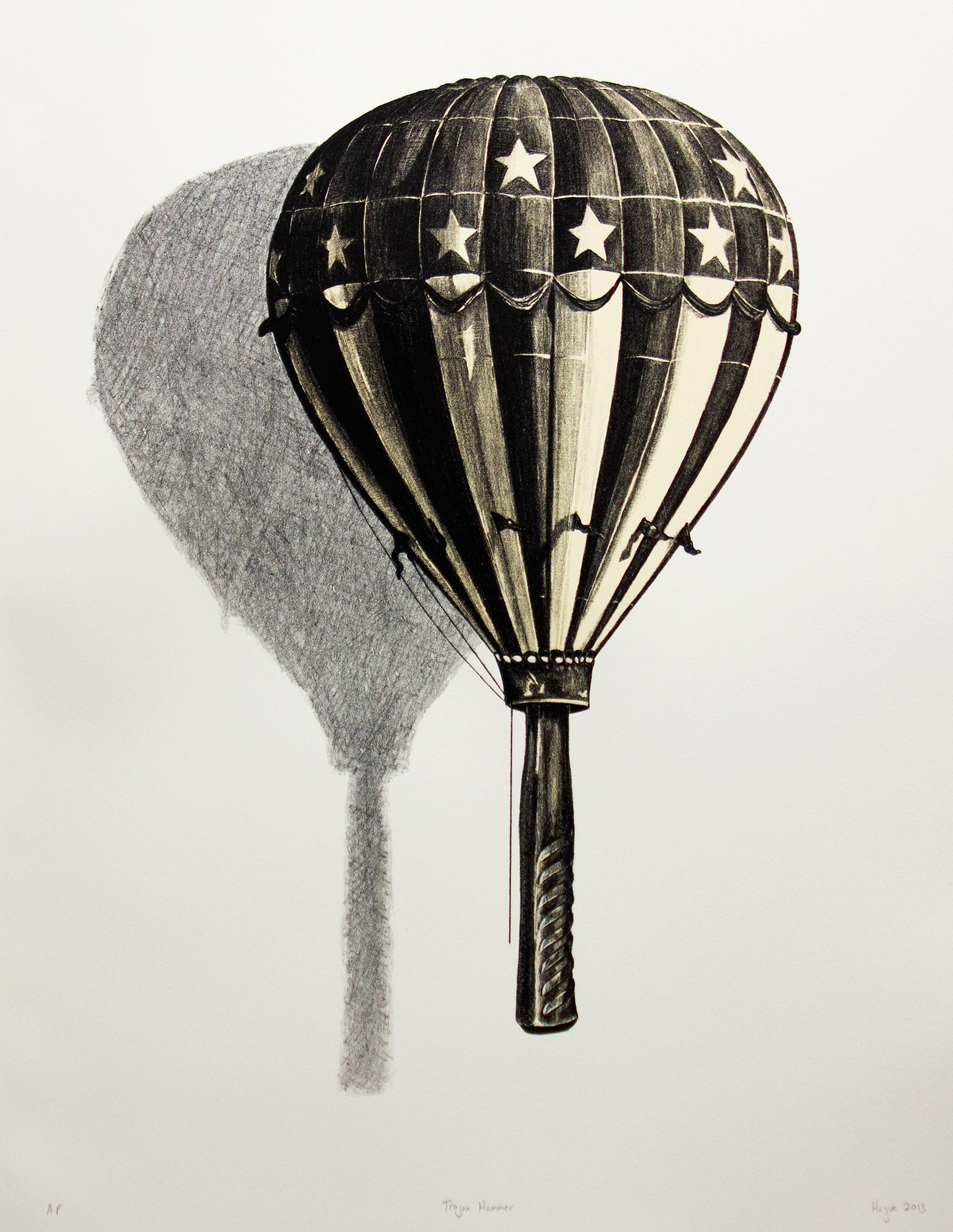 Trojan Hammer (Balloon). 2013