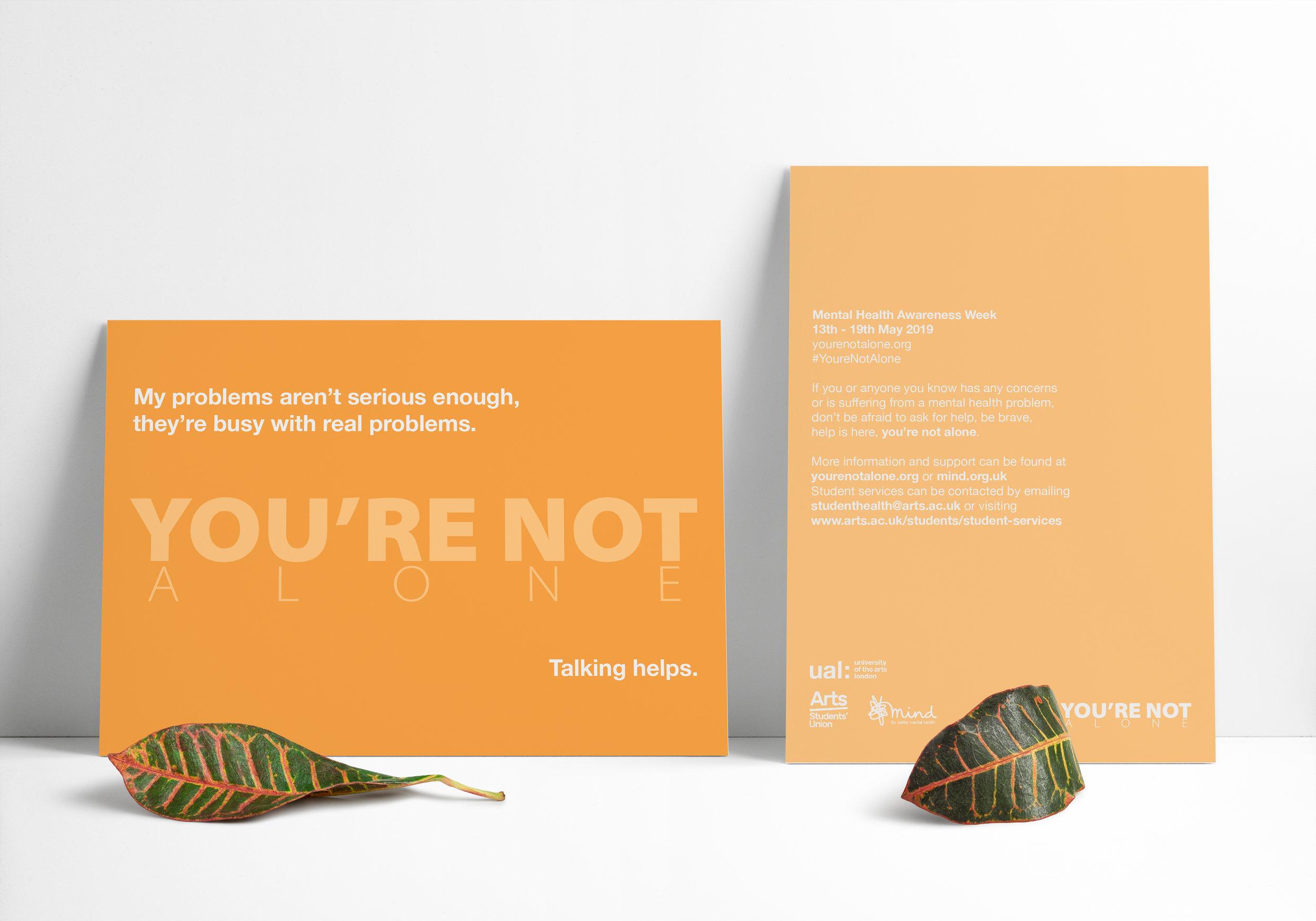 #You'reNotAlone -
