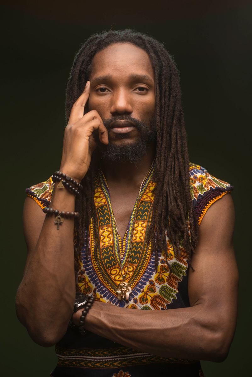 Kabaka Pyramid Featured Portrait