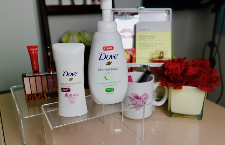 dove shower foam be chic mag