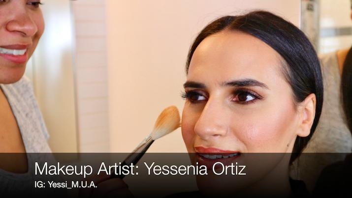 NYC makeup artist Yessenia Ortiz
