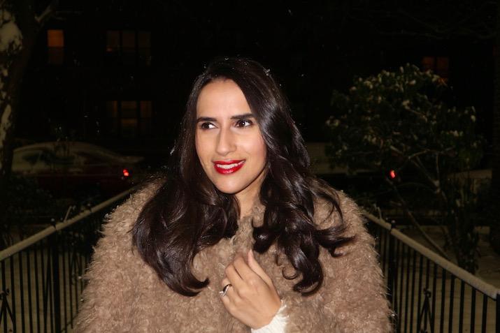 fuzzy faux fur Rebecca Taylor