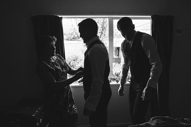 The Groom- #gettingready #bride #beautifullight #weddingdress #blackandwhite #highlightsandshadows #weddingphotography #nz #gettingmarriednz #hitched #groom #groomsmen #gettinghitched #brideandgroom www.hitchedweddings.co.nz