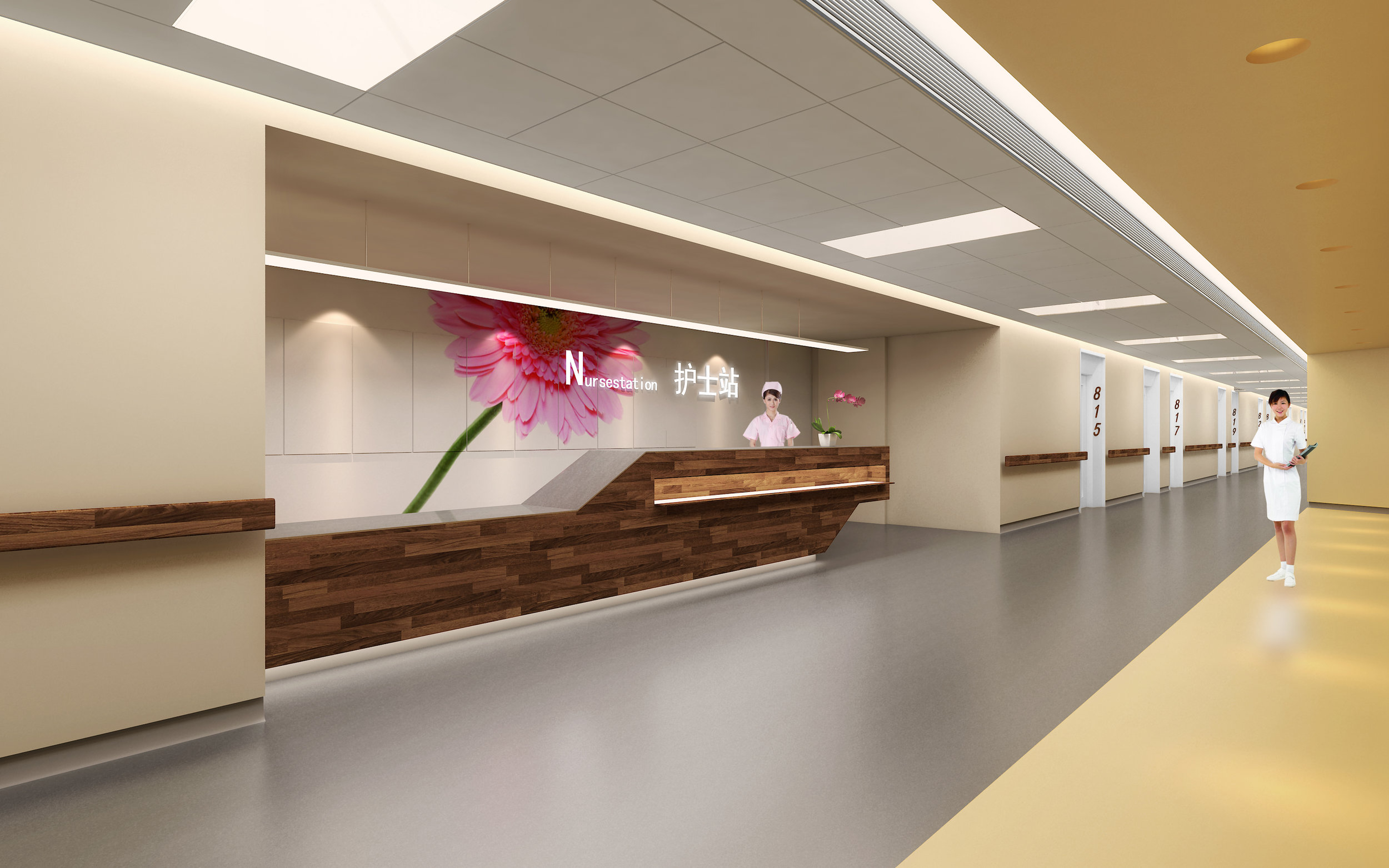 Xiamen Wuyuan Bay Hong'ai Hospital  xiamen, china