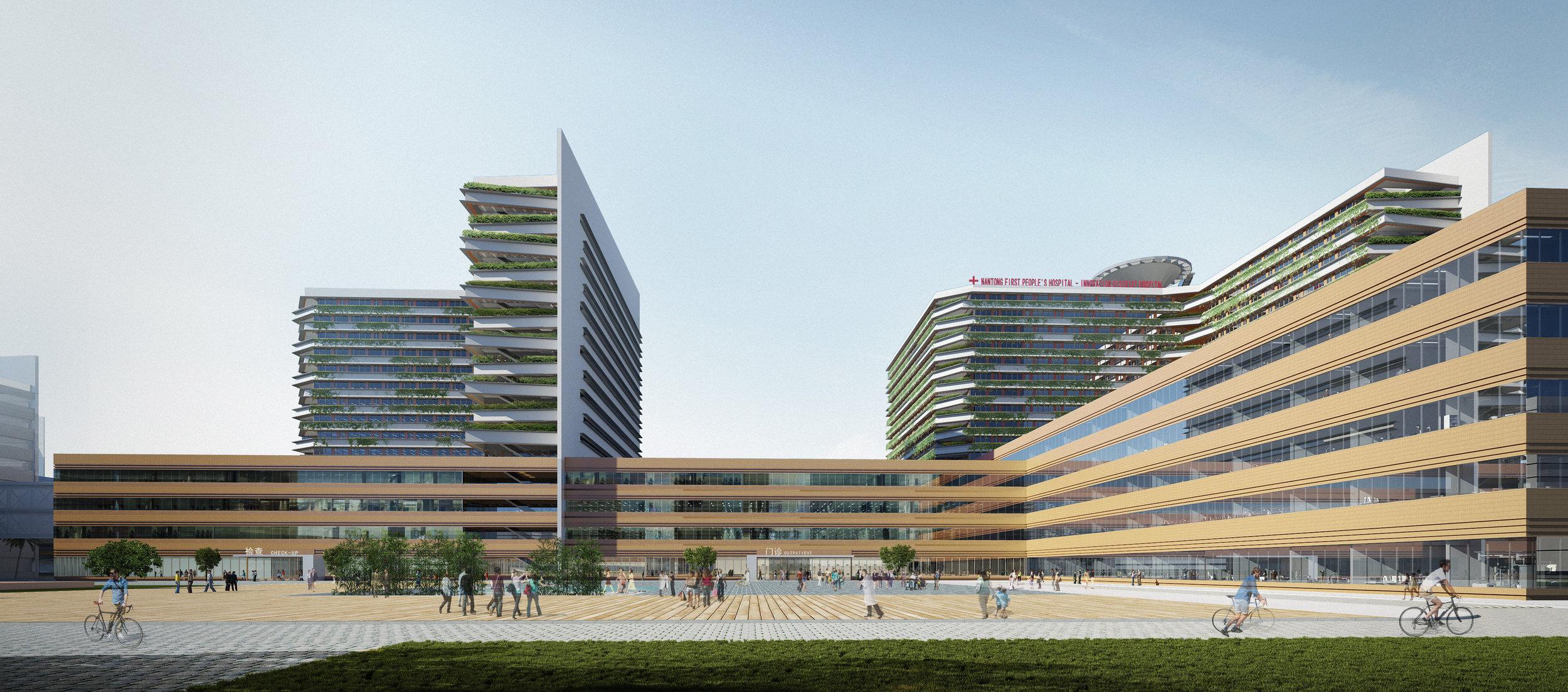 Nantong Central Innovation District Medical Center and Class III General Hospital  nantong, china