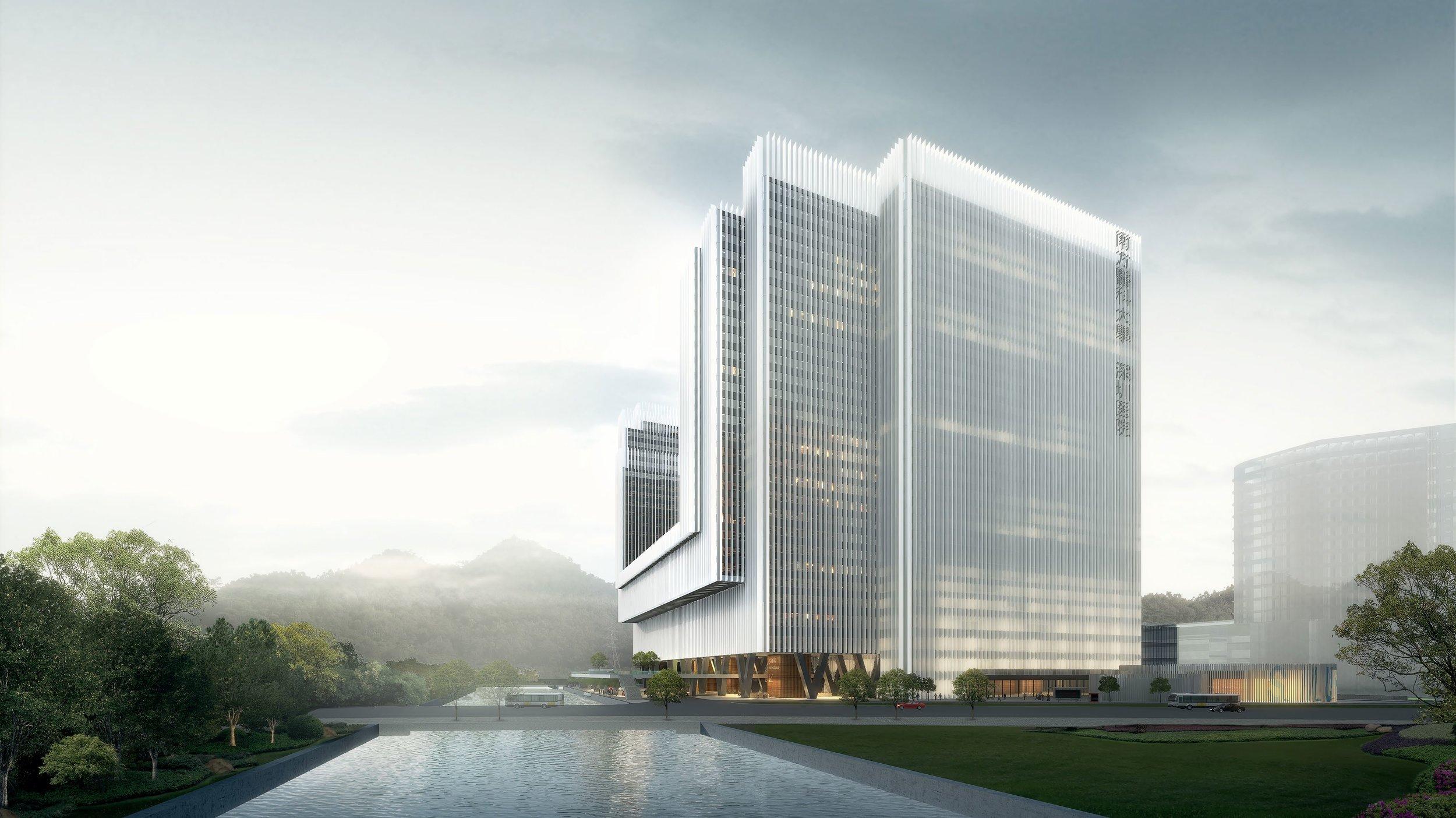 The Second phase of the Shenzhen Hospital of Southern Medical University  shenzhen, china