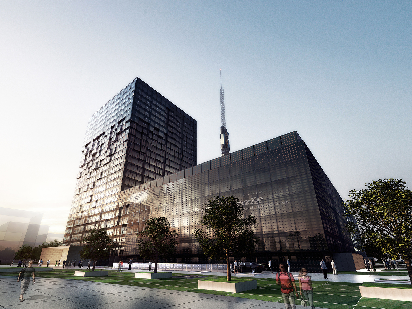 Pudong New District Broadcast TV Centre