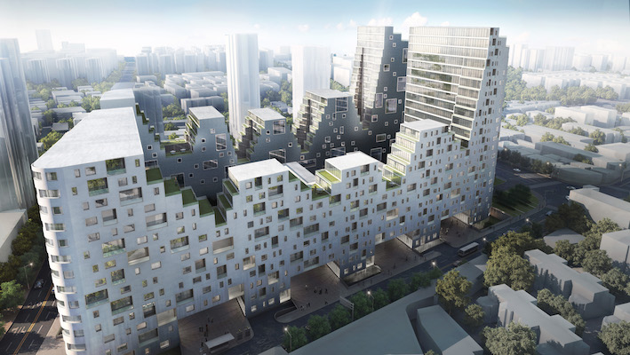 Jingan no. 72 site_Mixed-use City Complex  shanghai, china