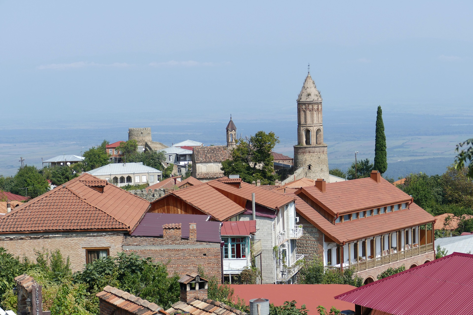Sighnaghi is a great home base from which to explore the wine roads of Kakheti