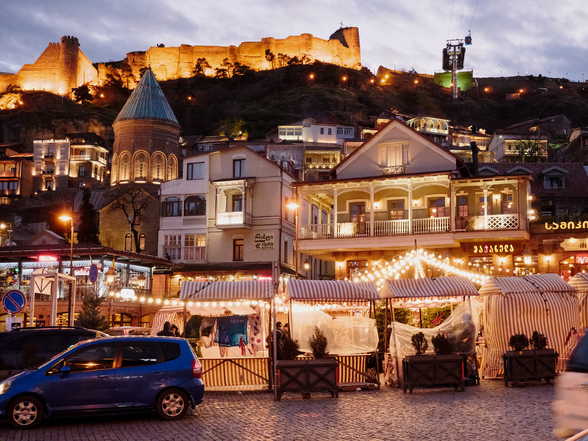 Tbilisi's old town is the best place to start your Georgian wine journey and immerse in the culture. A couple of days here and then its off to Kakheti for the main event.
