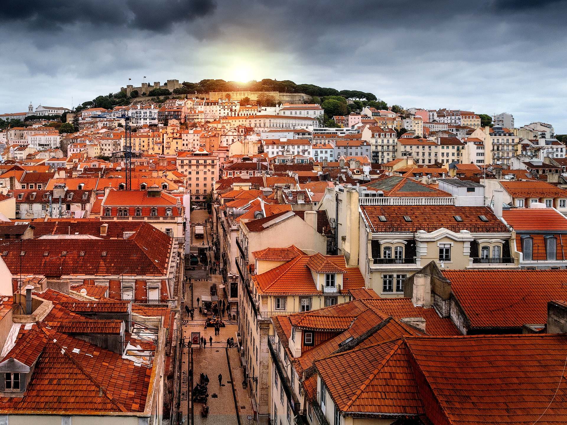 Lisbon's Alfama district is its historic beating heart, a cobbled, lovely maze that slopes up the hill to the Se Cathedral and Lisbon's central castle, the Castelo de Sao Jorge (photo by Cristina Macia)