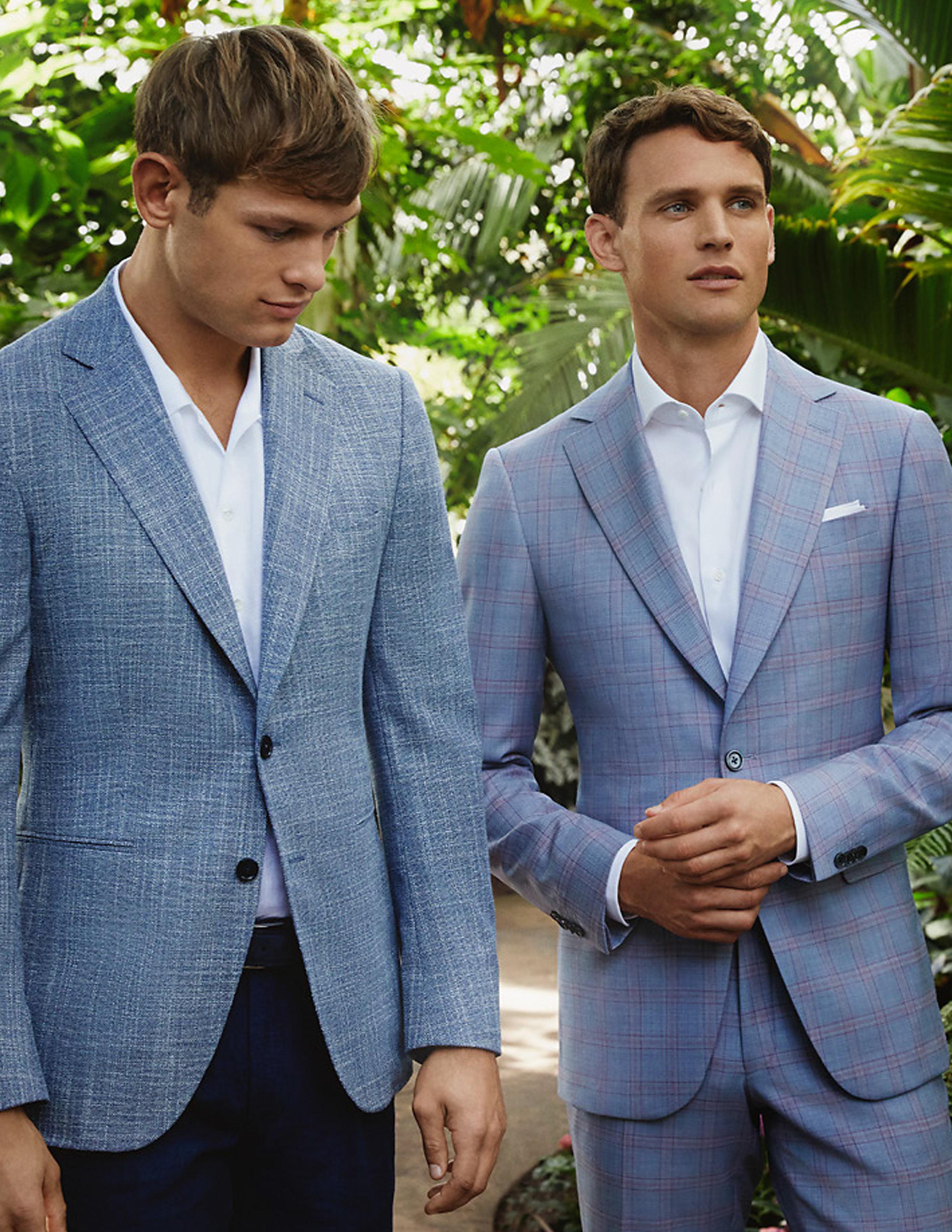 Cloth :: Scabal :: Positano No. 852864 & londoner No. 753741