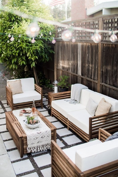 Relaxing Patio Space