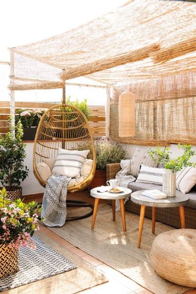 Boho Patio Spaces
