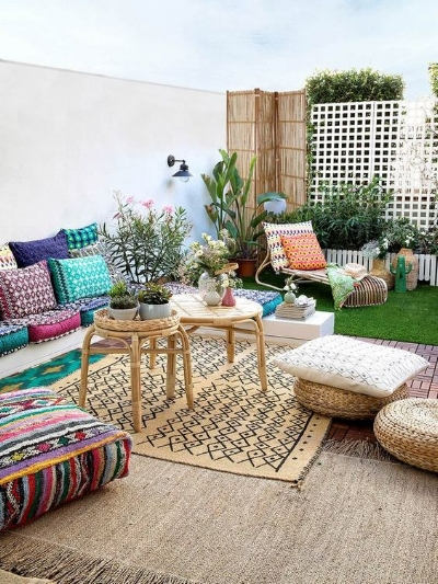 Outdoor Patio Bohemian