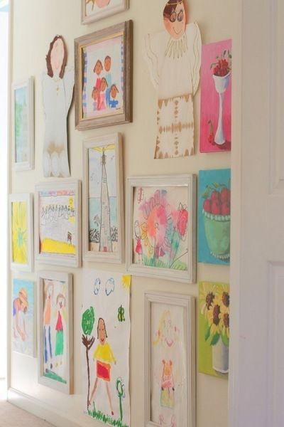 Art Wall for Kids