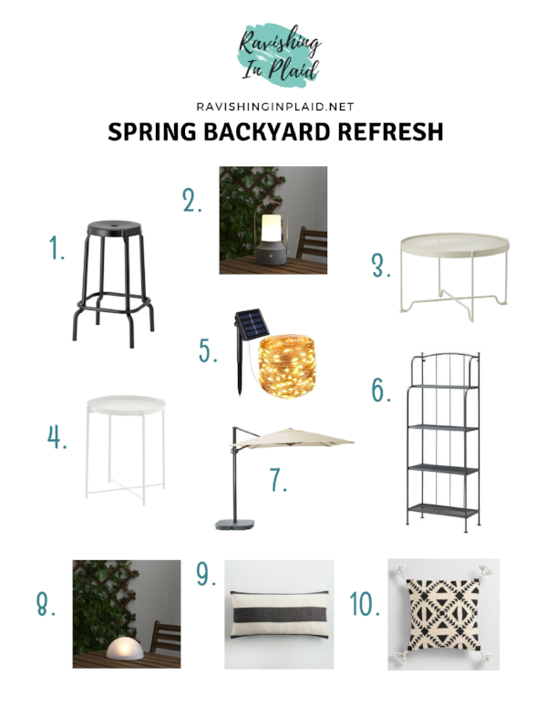 Spring Backyard Refresh