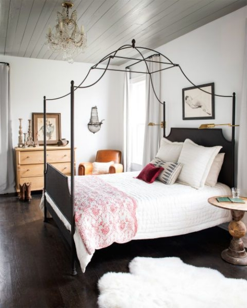 Wrought Iron in the Bedroom